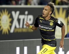 Wolfsburg 1-5 Dortmund: Aubameyang rực sáng