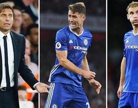 """Tức giận, HLV Conte thẳng tay """"trảm"""" hai tội đồ sau trận thua Arsenal"""