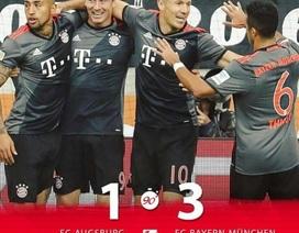 Bayern Munich xây chắc ngôi đầu, Dortmund gây thất vọng lớn