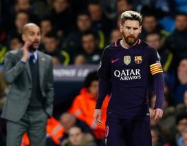 Messi nổi khùng với cầu thủ Man City trong đường hầm
