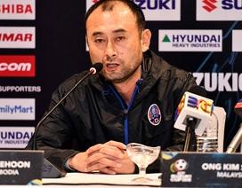 HLV Campuchia khẳng định sẽ đá hết mình trước đội tuyển Việt Nam