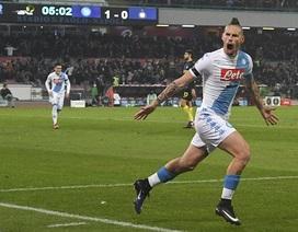 Inter bị vùi vập tan tác trên sân của Napoli