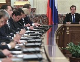 Tổng thống Nga Putin ký sắc lệnh thành lập chính phủ mới
