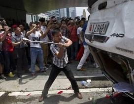 Doanh nghiệp Nhật thiệt hại 10 tỷ yên do biểu tình ở Trung Quốc