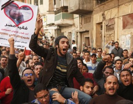 Biểu tình rầm rộ tại Ai Cập phản đối tuyên bố hiến pháp của tổng thống