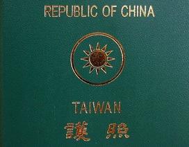 """Ðài Loan ứng phó với """"hộ chiếu lưỡi bò"""" của Trung Quốc"""