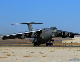 Nga bắt đầu chuyển giao máy bay vận tải Il-76 cho Trung Quốc