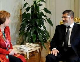 Đại diện EU: Tổng thống Ai Cập bị lật đổ Morsi vẫn khỏe mạnh