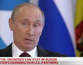 Snowden xin tị nạn tại Nga, Tổng thống Putin ra điều kiện