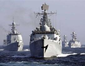 Hạm đội Trung Quốc xuất hiện ngoài khơi Nhật Bản