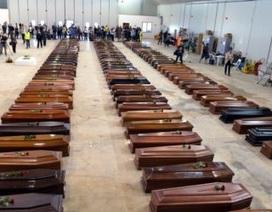 Ý hồi hương 111 thi hài di dân châu Phi