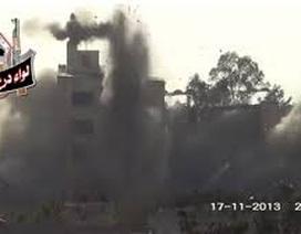 Đánh bom căn cứ quân sự làm 4 tướng Syria thiệt mạng