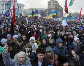 Thủ đô Ukraine lại tràn ngập người biểu tình