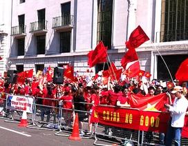 Người Việt tại nhiều nước tiếp tục phản đối Trung Quốc