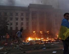 Ukraine: Người biểu tình chiếm đồn cảnh sát Odessa, phóng thích 60 người