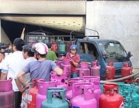 Vụ nổ kho gas: Doanh nghiệp từng sang chiết gas trái phép