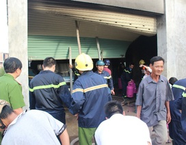 Vụ nổ kho gas: Doanh nghiệp không có giấy phép sang chiết gas