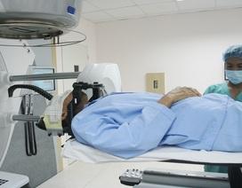 Đưa vào vận hành  máy xạ trị gia tốc tiên tiến điều trị u não