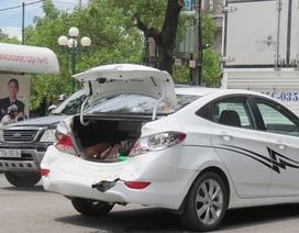 4 ô tô húc nhau liên hoàn trước đèn đỏ