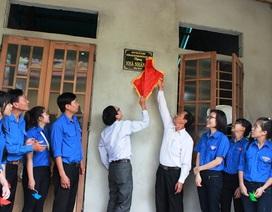 Trường xây nhà tình nghĩa cho sinh viên có hoàn cảnh khó khăn