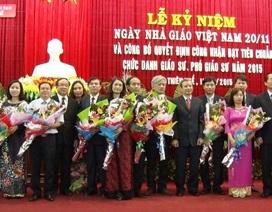 Đại học Huế có 19 giáo sư, phó giáo sư mới