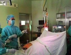 Mổ nội soi ung thư dạ dày bằng kỹ thuật 3D đầu tiên Việt Nam