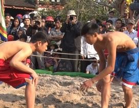 Hội vật làng Thủ Lễ xưa tuyển chọn binh lính cho triều đình