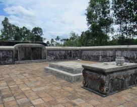 Khởi công trùng tu lăng vị chúa Nguyễn đầu tiên ở Huế
