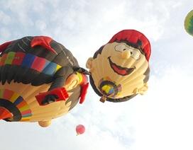 Kỳ thú khinh khí cầu 9 quốc gia hội tụ trên bầu trời cố đô Huế