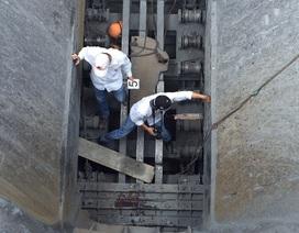 1 công nhân tử nạn dưới hố khai thác đá khi cố sửa băng chuyền