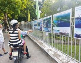 Trưng bày 20 phương án cầu vượt sông Hương cho người dân góp ý kiến
