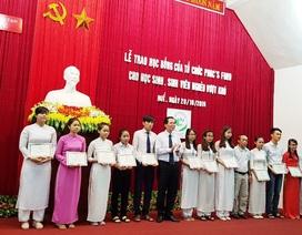 Trao hơn 300 triệu cho sinh viên, học sinh nghèo vượt khó tỉnh Thừa Thiên huế