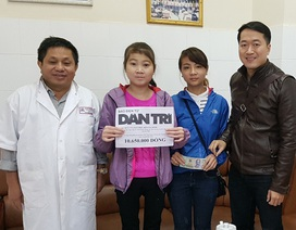 Hơn 10 triệu đồng tiếp tục đến với nữ sinh bị lupus ban đỏ