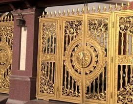 Ngắm những cánh cổng tiền tỷ của đại gia Hà Nội