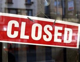 Tháng đầu năm 2016, hơn 12.000 doanh nghiệp đóng cửa