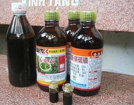 Hai tháng, Việt Nam chi gần 1.100 tỷ đồng nhập thuốc trừ sâu từ Trung Quốc
