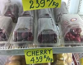 """Ma trận quả cherry: Hàng Tàu """"đột lốt"""" Mỹ, Canada bán giá cao"""