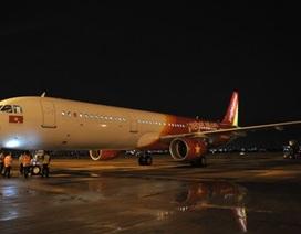 Vietjet Air nhận tàu bay A321 có 230 ghế đầu tiên trên thế giới
