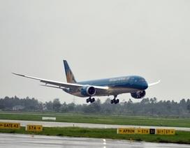 Boeing 787 của Việt Nam cất cánh trên đường bay quốc tế đầu tiên
