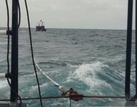 Cứu 7 thuyền viên trên tàu cá bị hỏng máy