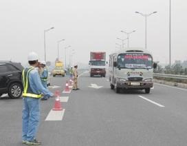 Đảm bảo giao thông các tuyến cao tốc hướng về Hà Nội ngày 2/9