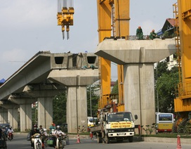 Trưng bày mẫu tàu đường sắt Cát Linh - Hà Đông trong tháng 10