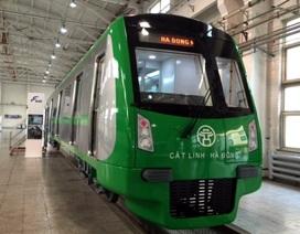 Hé lộ hình ảnh đầu tiên về tàu đường sắt Cát Linh - Hà Đông