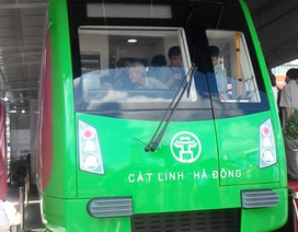 80% người dân hài lòng về mẫu tàu đường sắt Cát Linh - Hà Đông