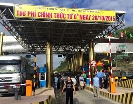 Vụ dân Lương Sơn phản đối trạm thu phí: Bộ GTVT đồng ý giảm 40% giá vé tháng