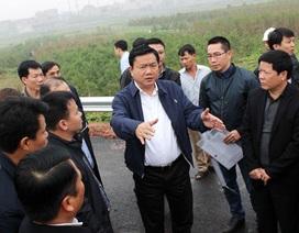 """Bộ trưởng Thăng: """"Bộ Giao thông không có thói quen hứa mà không làm!"""""""