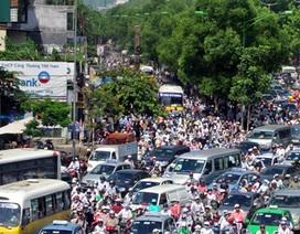 Từ 1/3, ô tô được tăng tốc thêm 10km/h trong khu đông dân cư