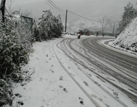 Có thể cấm đường ở các khu vực băng tuyết dày