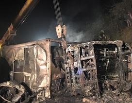 Vụ tai nạn-hỏa hoạn 3 người chết: Xét nghiệm ADN xác định danh tính nạn nhân