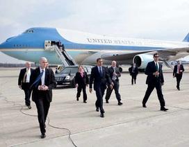 Miễn kiểm tra an ninh đối với chuyên cơ chở Tổng thống Mỹ
